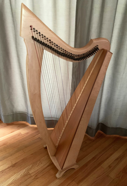 Triplett Celtic II Lever Harp - Pre-owned - IN STOCK